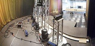 Setup Bühne